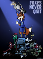 Foxes Never Quit by FreyFox