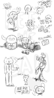 TAWoG :Doodles1: by Keeve-San