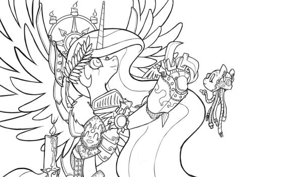Blog Header - Lineart by Sanity-X