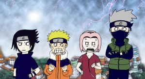Team 7 -ANGRY MODE- by Jessy08