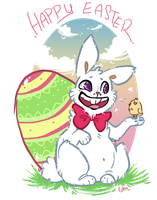 Awkward Easter by LoupDeMort