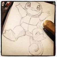 .:. Squirtle WIP.:. by Curlygurly222