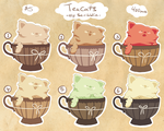 Regular teas batch no.1 [Closed] by scribblin