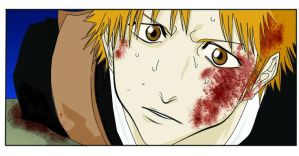 Wounded Ichigo by Pippin4242