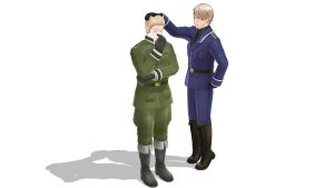 Prussia is 'taller' than Germany! by Death-the-Fairy