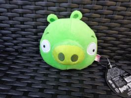 Japanese exclusive magnet Piggy plush by Gallade007