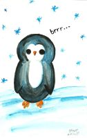 Penguin by brandimillerart