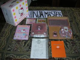 Console Dreamcast Pink Hello Kitty by ninjamaster76