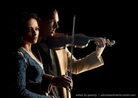 The Opera Singer and The Violinist II by gwendy85