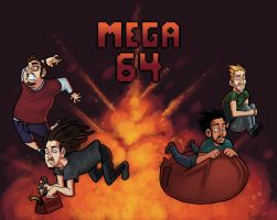 The Mega 64 crew by Cgoose