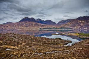 Mountains Of Torridon by derekbeattieimages