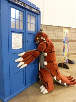 [DCC] Groudon is a Whovian Too! by CanineHybrid