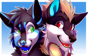 [COM] Double Trouble by SimplyKeji
