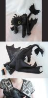Toothless Plush by JenKristo