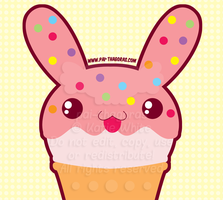 DaD - 052 Bunny Ice Cream by pai-thagoras