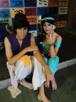 Aladdin x Jasmine - Cosplay Session 22 by Bahamut-Eternal
