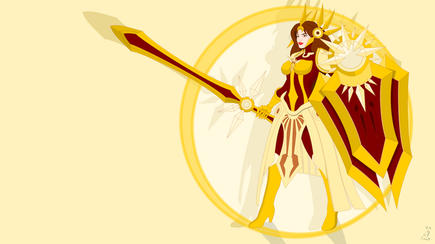 Leona, the Radiant Dawn by ElderKitsune