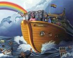 Noah's Gay Wedding Cruise by paulypants