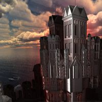 Templar stronghold by Juniae