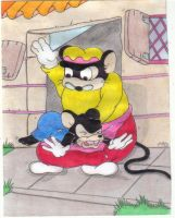 The Disobedient Mouse by Krypto451