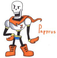 Papyrus by YouCanDrawIt
