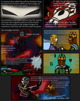 Magician's Prophecies pg 2 by RPCatgirl