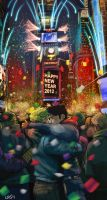 New Year 2012 by Cris-Art