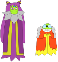 SuperTime-Earth Cackletta and Fawful by jacobyel