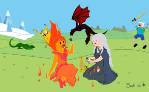 Game of...time? Adventure of thrones? xD by Sati-Chan-Meown