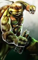 Michaelangelo by johnnymorbius