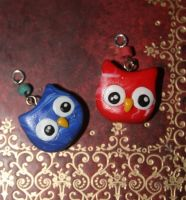 Owlies - Charms by ImmortalChange