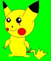 Scar the pikachu by Kittymuffins98