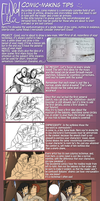 TUTORIAL - Tips for Comic panels by WildEllie