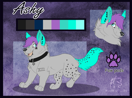 Ashy Reference Sheet by WindWo1f