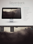 Sevenbark  Taskbar  for Rainmeter by Setuini