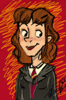 Hermione in color by haystax45