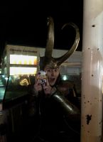 Loki! Did you turn your brother into a phone? by LaneDevlin
