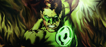 Green lantern by VocaloidAndSuch