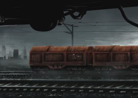 Final Station Concept 1 by ElConsigliere