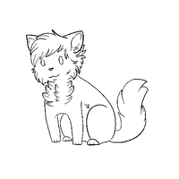 Free Cat Base (MS Paint Friendly) 2 by ButterflyColour