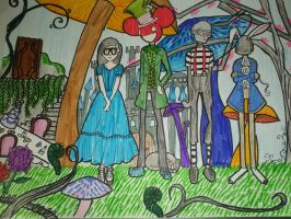 Wonderland Again... With more colors by 96melissa