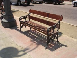 stock street bench 2 by xSunnyCloudx