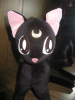 Luna SM plushie v.01, looking by Rens-twin