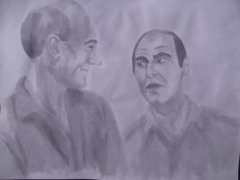 Suchet and Stewart: The Royal Shakespeare Company by GoodOldBaz
