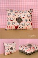 Petit Animals Pincushion Pink by tinypom