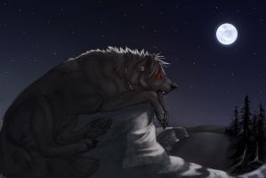 RogueWolfclaw-commission- by RogueLiger