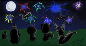 fireworks iscribble by mysterydungeoners