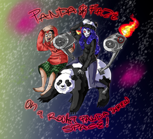 Faze and Panda by Berserk-Cyborg-Panda