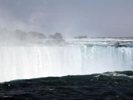 Nigara Falls II by His--Butterfly