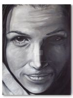 Shawnee Smith Canvas by RavenMedia